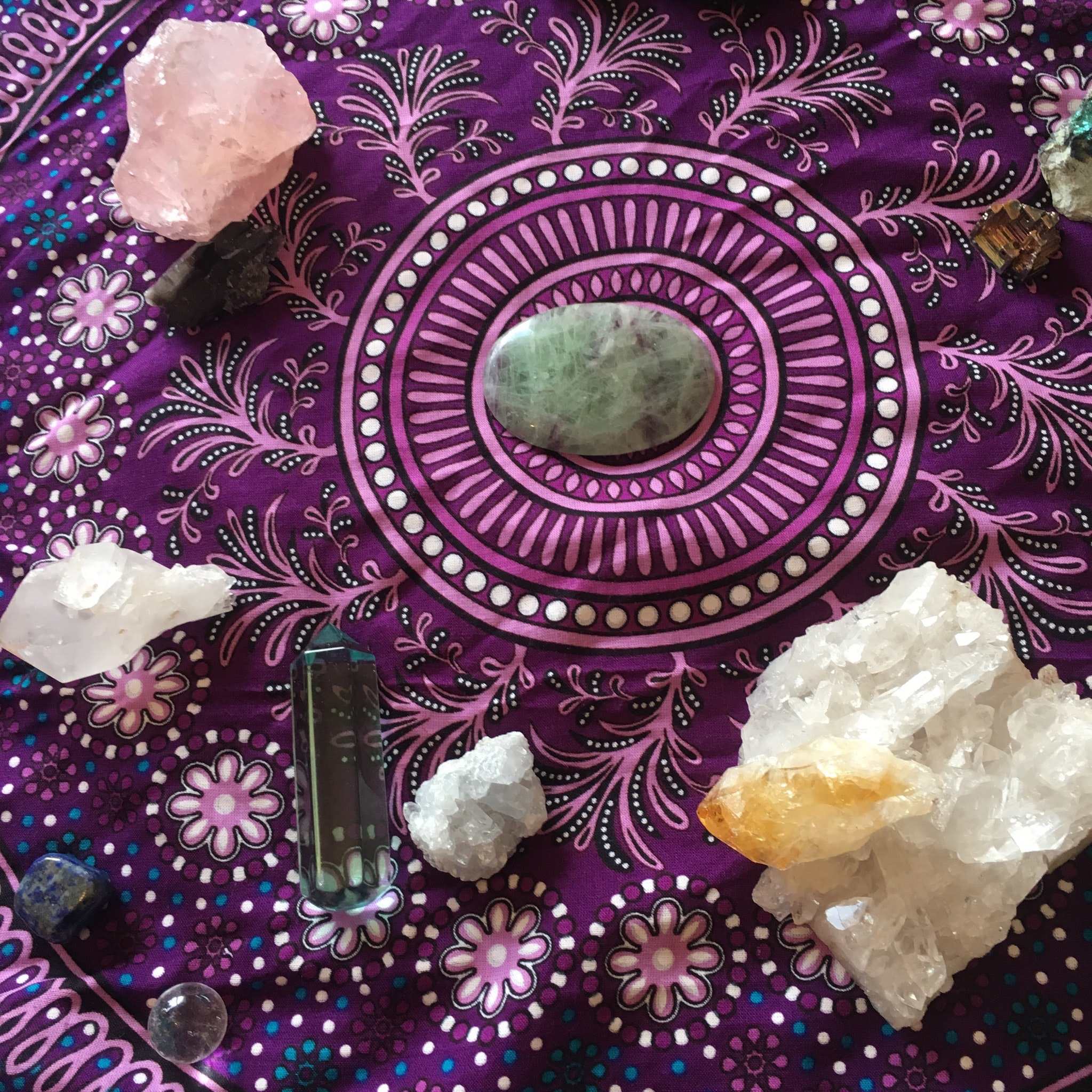 PROGRAMMING & BLESSING YOUR CRYSTALS